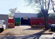 Vendo terreno industrial 696 m2
