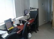 Rento excelente oficina en nueva los leones