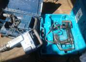 Vendo  martillo demoledor bosch  y makita originales