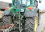 Tractor john deere 6320, año: 2003 con cargador frontal