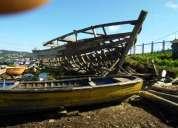 Se vende esqueleto de lancha en construcción 7.000.000 conversable