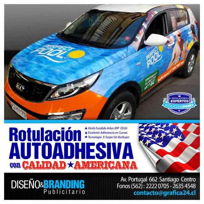 Gráfica Vehicular Rotulacion Autoadhesiva