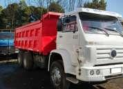 Camión volkswagen 31310 6x4 año 2007 tolva de 13m3