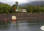 arriendo casas orilla lago rupanco / precio por quincena.consultar precio!
