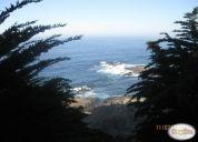 Arriendo parcela el tebo vista al mar