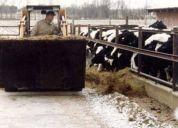 Balde descarga lateral para tractores y minicargadores,consultar!
