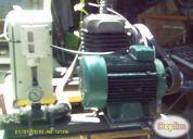 Vendo bomba de vacio de pistones de 1 hp garantizado