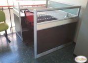 Centro de trabajo, incluye paneles separadores silla y cajon,consultar ya!