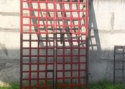 Vendo puertas de fierro