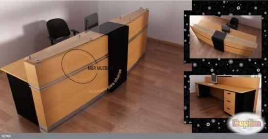 Vendo Muebles de recepcion, diseños curvos a la medida