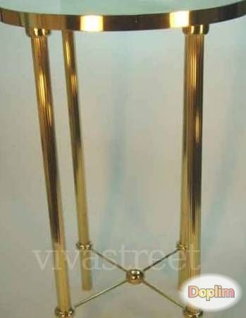 Vendo Mesitas de centro bronce