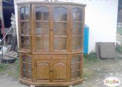 Vendo muebles de estilo en madera - quilpue