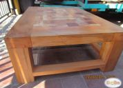 Oportunidad!! hermosa mesa de centro en madera nativa