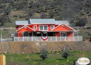 vendo hermosa casa en parcela