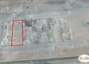 Vendo terreno de 1920 mts2 para construir 4 galpones