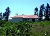 Vendo terreno de 5600 mt2 + casa nueva estilo colonial