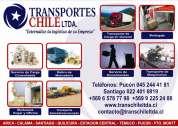 transportes carga general - mudanzas completas y compartidas -retornos.
