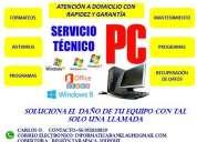 servicio tecnico informatico de pc y notebooks