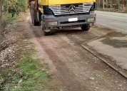 camion mbenz astros 3331 6x4 año 2004 carroceria y carro forestal