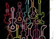 Clases particulares de guitarra acústica o eléctrica