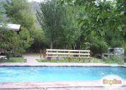 Excelente casa equipada , quincho piscina