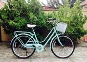 Vendo bicicleta gama turquesa