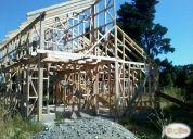 Vendo sitio con estructura de casa en las gaviotas