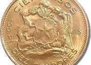 compro monedas de oro