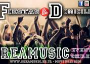 Servicio de fiestas y eventos a domicilio ( dj , amplificacion, karaoke y mucho más)