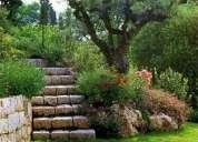"""Paisajismo """"diseño y construcción de jardines"""""""