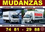 Mudanzas y embalajes / santiago - regiones / 74812988 / calidad y servicios