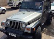 Excelente jeep wrangler año 2002 4.0