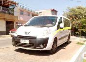 Se remata minibus peugeot expert premium aÑo 2012,consultar!