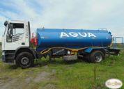 Vendo camión aljibe , iveco tector 170e22 año 2004