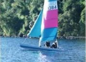 Vendo catamaran dart 15, ingles