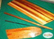 Excelente velero laser o piezas de maderas nuevas