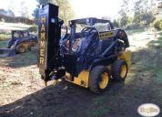 Excelente martillo enterrador de postes