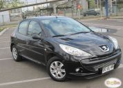 Excelente peugeot 207 compact diesel biturbo 1,4 cc, año 2011
