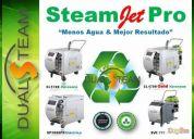 Excelente maquina limpieza vapor