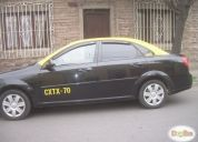 Excelente taxi básico chevrolet optra 2012 c/derechos