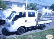 Arriendo camioneta kia frontier 2.5 cabina doble