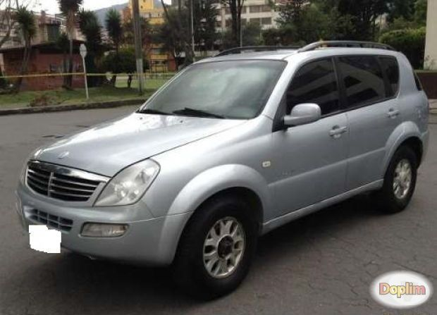 Excelente 2007 ssangyong rexton turbo diesel
