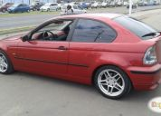 Vendo bmw 318ti 2001 impecable.