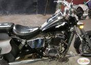 Excelente moto regal raptor 350 año 2012