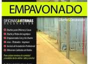FILM AUTOADHESIVO EMPAVONADO PARA VENTANALES Diseño & Decoración