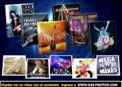 Colección de música mp3 y películas avi