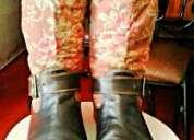 Vendo botas cuero artesanal