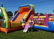 Juegos inflables y cumpleaños infantiles