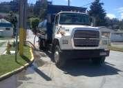 Arriendo camión aljibe