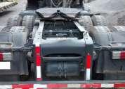 Tracto camión scania p340 6x4 año 2010 con equipo hidraulico